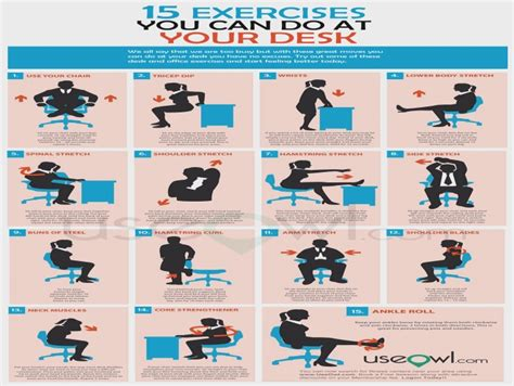 Office Desk Exercises by How To A Fantastic Desk Exercises At The Office With
