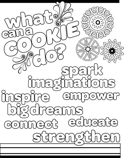 Girl Scout Cookies 2019 Girl Scout Cookie Colouring