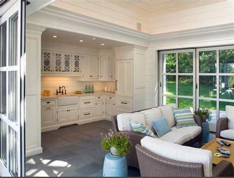 House Kitchen Breakfast Room And Deck by Best 25 Pool Houses Ideas On Outdoor Living