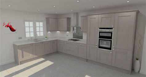 shaker cabinets kitchen dust grey shaker l shape kitchen kitchen designs 2168