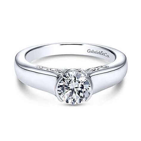 and co wedding rings platinum engagement rings gabriel co 7998