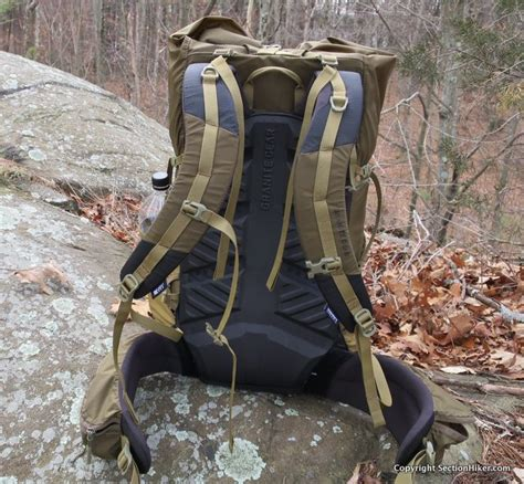 granite gear crown 2 60l backpack review section