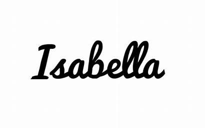 Cursive Isabella Onesie Word Writing Personalised Toddler
