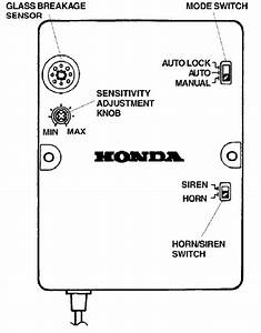 Honda Accord How To Disable Factory Security System