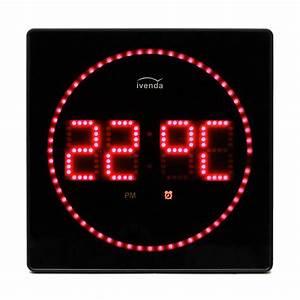 Led Uhr Wand : rote design led wanduhr ~ Whattoseeinmadrid.com Haus und Dekorationen