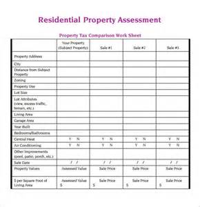 Excel Template For Inventory Property Assessment Template 7 Free For Pdf Sle Templates