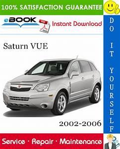 Saturn Vue Service Repair Manual 2002