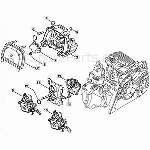 Stihl Ms 181 Chainsaw  Ms181c  Parts Diagram  Air Filter