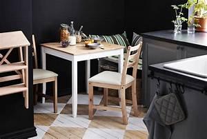Petite Table Ikea : une mini salle manger dans une toute petite cuisine ~ Preciouscoupons.com Idées de Décoration