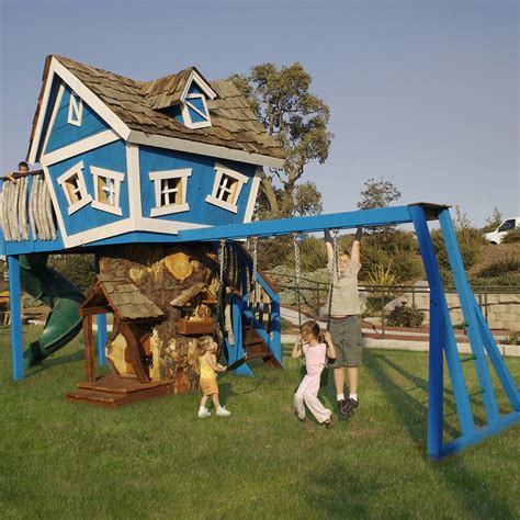 backyard playset playhouses for 21st century style thelittlelegscompany