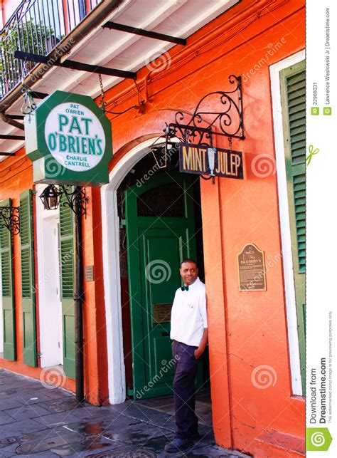 new orleans pat obriens bar editorial photo image 22966031