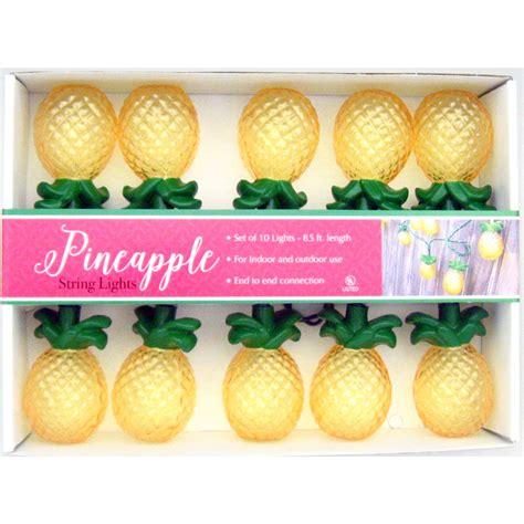 Pineapple Lights by Golden Pineapple Fruit String Lights Hospitality