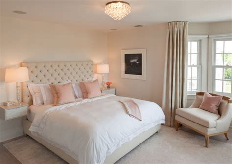 kilim pillows pink and beige bedroom transitional bedroom robyn