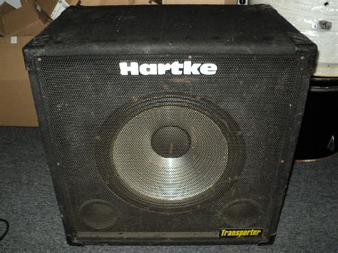 hartke 410 transporter bass cabinet hartke 115tp transporter 1x15 electric bass guitar speaker
