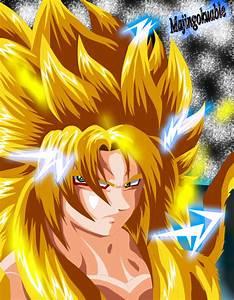 Goku SSJ God (My version) by Majingokuable on DeviantArt