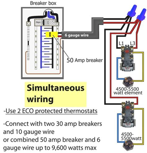 wiring diagram for rheem water heater powerking co