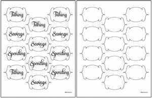 tithing savings spending jars free printable labels With how to print out labels
