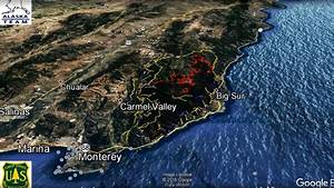 Google Earth videos show Soberanes Fire spreading