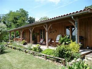 Maison Bois Et Terrasse Au Nord Du Bassin D U0026 39 Arcachon