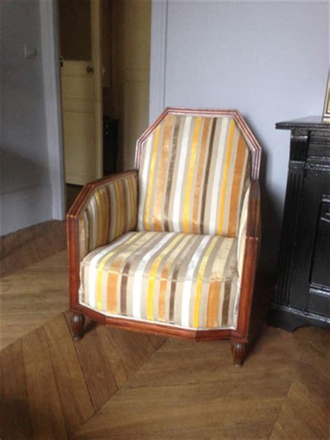 fauteuil 1930 gilles auriol tapissier
