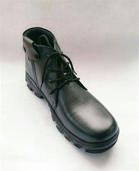 jual sepatu pdh boot pria kulit asli rasheda fdhr big size di lapak rashedastore abey18