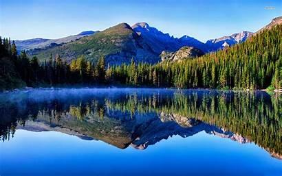 Lake Mountain Nature Wallpapers