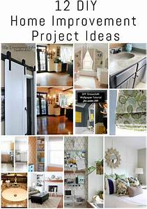 12 DIY Home Improvement Project Ideas {The DIY Housewives ...