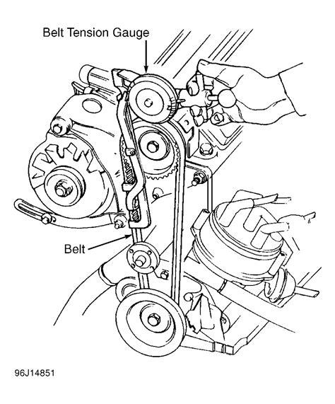 Chevrolet Chevette Serpentine Belt Routing Timing