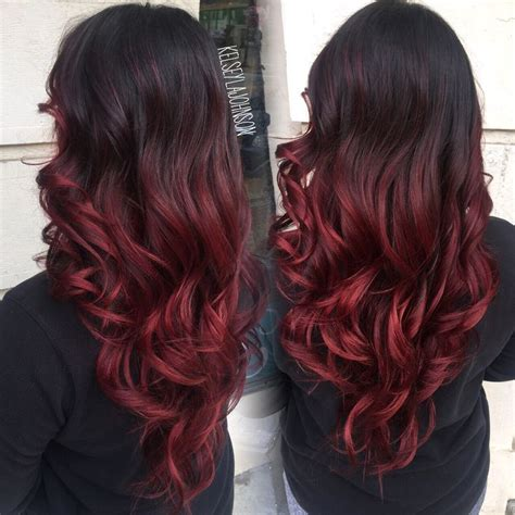Best 25 Red Ombre Ideas Only On Pinterest Red Blonde