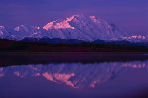 Snowy Mountain Desktop Wallpaper Wallpaper Snow Sunset Lake Mountains Reflection Snowy Mountains At Sunset