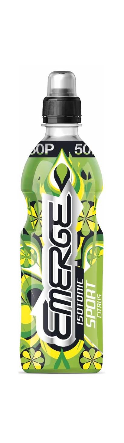Emerge Citrus Drink Stimulation Isotonic 500ml Bottle