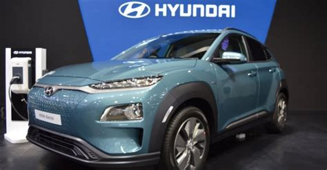 hyundai  manufacture kona electric  india