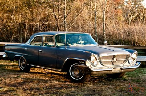 For Sale New by 1962 Chrysler New Yorker Sedan Low Mileage Unrestored Driver