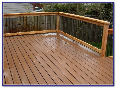 Wood Deck Sealer And Stain  Decks  Home Decorating Ideas