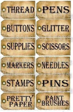 Image Detail For Shabby Chic Labels  Gift Tags Epherma