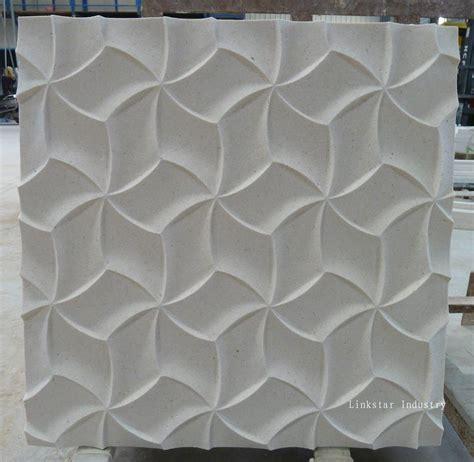 cnc interior design stone wall panels  china