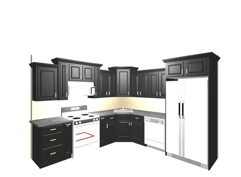 Black Cabinets For Sale by Black Kitchen Cabinets For Sale 3500 00 Island