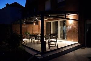 Seitenteile Für Terrassenüberdachung : bildergalerie alu terrassen berdachungen mit beleuchtung ~ Whattoseeinmadrid.com Haus und Dekorationen