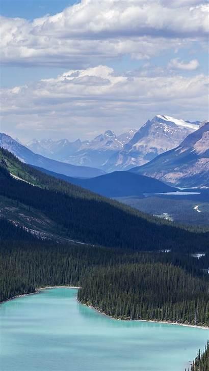 Canada Mountain Nature Lake Fantastic Iphone Apple
