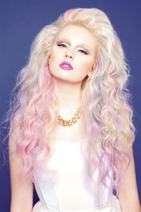 Blonde To Dark Pink Ombre Hair Colors Ideas