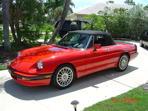 Alfa Romeo Spider by 1993 Alfa Romeo Spider Photos Informations Articles