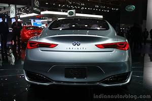 Infiniti Q60 Concept rear at the 2015 Detroit Auto Show
