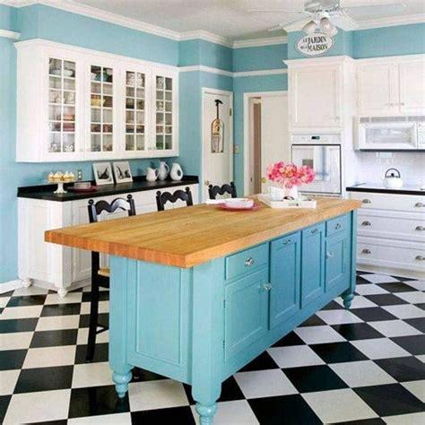cuisine bleu ciel peinture cuisine 40 idées de choix de couleurs modernes