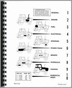 Case 2090 Tractor Parts Manual