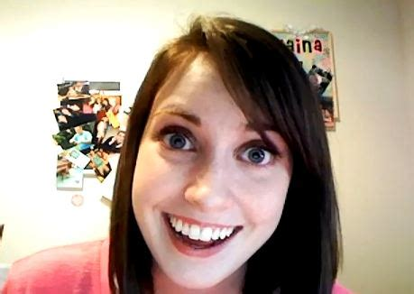 Stalker Girl Meme - overly attached girlfriend offers a freaky cover of call me maybe