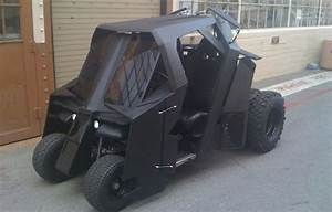 Outrageously Cool Batman Tumbler Golf Cart Sells For  17 500  U2014 Geektyrant