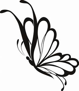 Butterfly Line Art - Cliparts.co
