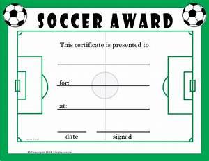 Free Soccer Certificates  0 00