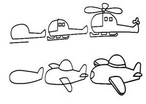 How to Draw a Plane Step by Step for Kids