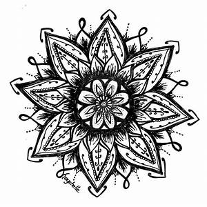 The gallery for --> Lotus Flower Drawing Henna